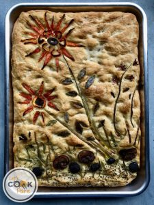 Focaccia is best served on the day it's made